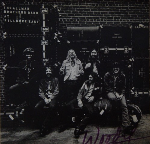 Allman Brother sBand Live Fillmore East