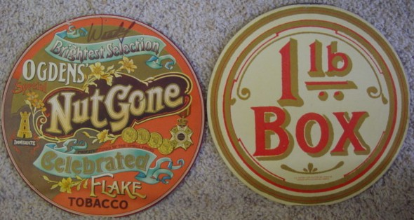 Small Faces - Ogdens Nut Gone Celebrated Flake Tobacco - Slip Cover Only